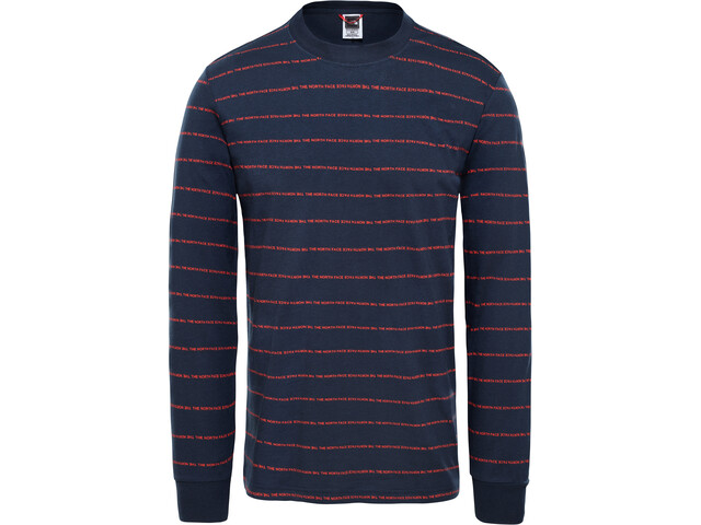 The North Face Stripes T-shirt à manches longues Homme, urban navy